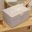 Lisa Angel Personalised Stackers Classic Jewellery Boxes