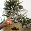 Lisa Angel Battery Powered Large Silver LED Wire Star Light Decoration