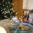 Meri Meri Set of 6 Colourful Confetti Star Crackers