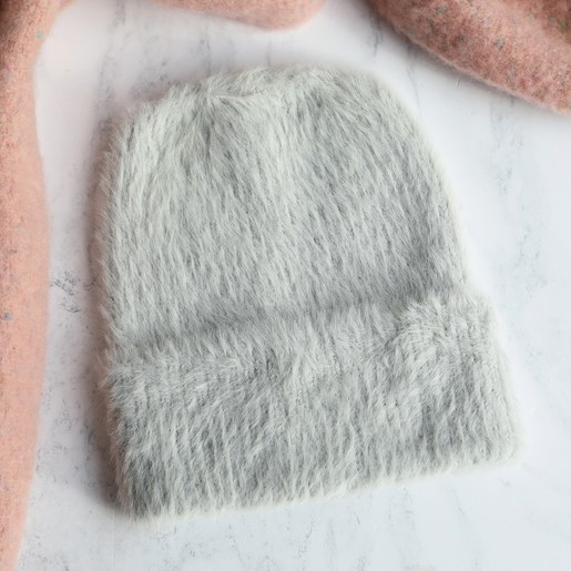 Lisa Angel Ladies  Super Soft Beanie Hat in Grey fdd2d2253d1