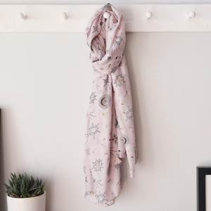 Starburst Nights Scarf in Pink