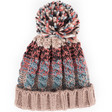 Lisa Angel with Ladies' Powder Design Astrid Bobble Hat in Teal