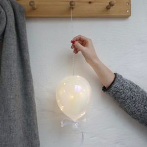 Large Hanging Pearlescent Balloon LED Light