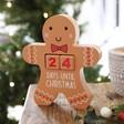 Lisa Angel Sass & Belle Gingerbread Man Countdown Block