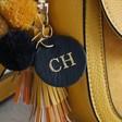Ladies' Personalised Yellow Cross Body Handbag