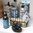 Lisa Angle Man'Stuff Shower Caddy and Body Care Set