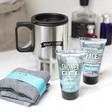 Lisa Angel Men's Man'Stuff Wash 'n' Go Toiletry Gift Set