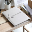 Lisa Angel Grey Faux Leather Refillable Notebook