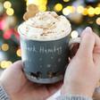 Lisa Angel Ceramic 'Bark Humbug' Christmas Dog Mug