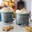 Lisa Angel Christmas Ceramic Animal Mugs