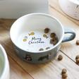 Lisa Angel Ceramic 'Feed Me' Christmas Cat Food Bowl