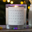 'Countdown to Christmas' Scented Candle