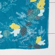 Personalised '3 Things' Winter Deer Print Scarf in Teal