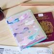 Lisa Angel Ladies' House of Disaster 'By the Sea' Mermaid Passport Holder