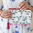 Ladies' House of Disaster Frida Kahlo 'Parrot' Make Up Bag