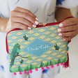 Lisa Angel House of Disaster Frida Kahlo 'Parrot' Make Up Bag