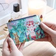 Lisa Angel with Ladies' House of Disaster Frida Kahlo Tropical Purse
