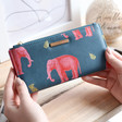 Women's House of Disaster Heritage & Harlequin Elephant Wallet