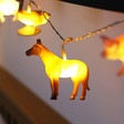 Colourful House of Disaster Farm Animal String Lights