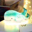 Lisa Angel with House of Disaster Mother & Baby Whale Lamp