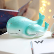 Lisa Angel with Mains Powered House of Disaster Mother & Baby Whale Lamp