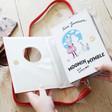 Inside of Ladies' House of Disaster Moomin Book Bag
