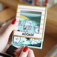 Lisa Angel with Unisex House of Disaster Moomin 'Family' Print Socks