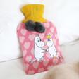 Lisa Angel Ladies' House of Disaster 'Moomin Heart' Hot Water Bottle