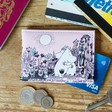 Lisa Angle with Ladies' House of Disaster Moomin Love Travel Pass Holder