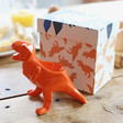Lisa Angel Kids House of Disaster Orange Origami T-Rex Dinosaur Egg Cup
