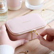 Ladies' Estella Bartlett Blush Pink Mini Jewellery Box