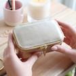 Lisa Angel Ladies' Estella Bartlett Gold Mini Jewellery Box