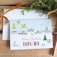 Lisa Angel Norwich Christmas Skyline Greeting Card