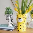 Lisa Angel Ceramic Animal Head Vases