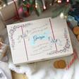 Lisa Angel Kids Personalised Carousel Wooden Christmas Eve Box