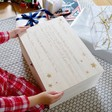 Lisa Angel Kids Personalised Wooden Christmas Eve Poem Box