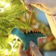 Lisa Angel Felt Dinosaur Hanging Decoration