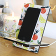 Ladies' Handmade Fruity Wooden Phone Holder