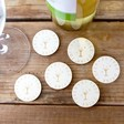 Lisa Angel Engraved Pack of 30 Wooden 'Free Drink' Tokens