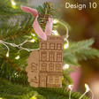 Personalised Wooden House Decoration Designs
