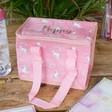 Lisa Angel Pink Personalised Magical Unicorn Lunch Bag