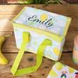 Lisa Angel Personalised Kids Tropical Fruit Lunch Bag