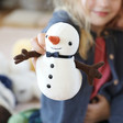 Lisa Angel with Children's Jellycat Joyful Snowman Soft Toy