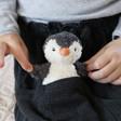 Childs Jellycat Mini Peanut Penguin Soft Toy