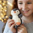 Jellycat Mini Peanut Penguin Soft Toy