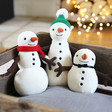 Lisa Angel Jellycat Snowman Soft Toys