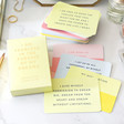Lisa Angel Ladies' Kikki.K Affirmation Cards 52pk: Inspiration