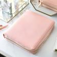 Lisa Angel Ladies' Kikki.K Large Pink Leather Personal Zip Planner