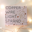 Lisa Angel 30 Battery Powered LED Copper Wire Strand Lights in Packaging