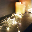 Lisa Angel Twinkling Plug In Warm White LED Cascading String Lights